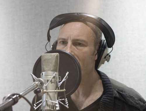 Andy in the Studio (Final Album Session … More or less)